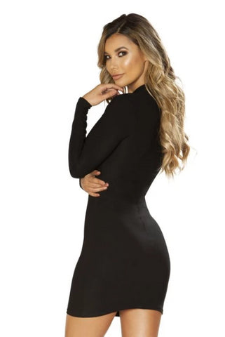 Haylee Long Sleeve Dress-Dress-Fab Fantasies