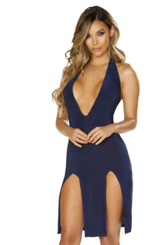 Estella Low Neck Dress-Dress-Fab Fantasies
