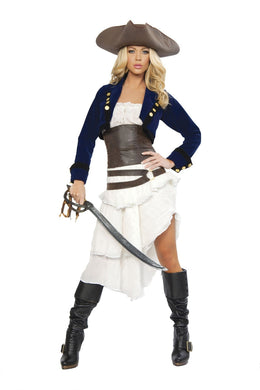 Deluxe Colonial Pirate-Costumes-Fab Fantasies
