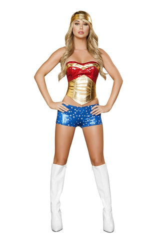 Image of Wonder Heroine-Costumes-Fab Fantasies