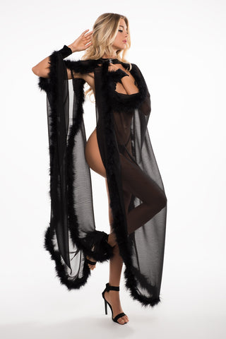 Image of Katherine the french kiss cape o/s-Cape-Fab Fantasies