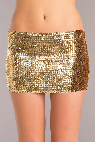 Jillian Sequin Mini Skirt-Skirt-Fab Fantasies