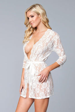 Lola Over Lace Robe-Robe-Fab Fantasies