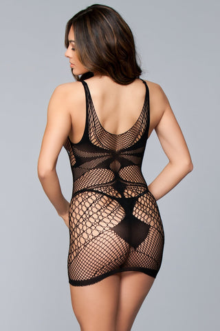 Image of Miah Sleeveless Dress bodystocking-Bodystocking-Fab Fantasies