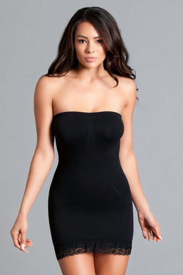 Ella ultra light strapless dress shaper-Body Shaper-Fab Fantasies