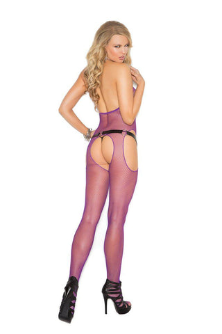Image of Elisa Fishnet Suspender Bodystocking-Bodystocking-Fab Fantasies