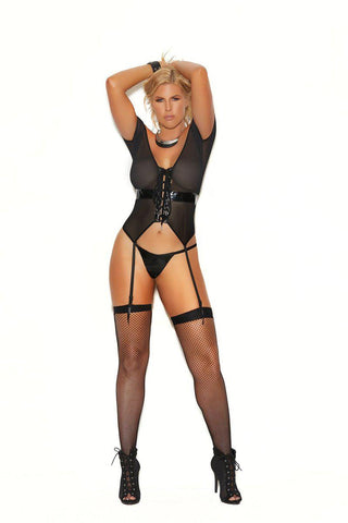 Image of Micah Fishnet Thigh High-Thigh hi-Fab Fantasies