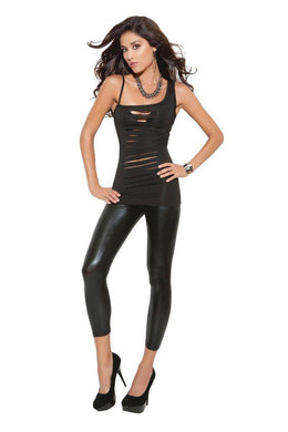 Joy Top W/ Cut Out Panel Front-Top-Fab Fantasies