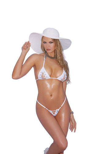 Anaya 2 Pc. Swimwear Set-Micro Bikini-Fab Fantasies