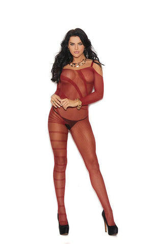 Image of Melissa Cold Shoulder Bodystocking-Bodystocking-Fab Fantasies