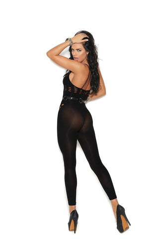 Image of Josephine Footless Bodystocking W/cutout-Bodystocking-Fab Fantasies