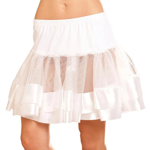 Image of Annabella Satin Petticoat-Costume Accessories-Fab Fantasies