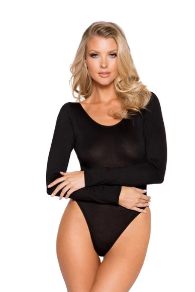 Zariah Cozy Long Sleeved Bodysuit-Bodysuit-Fab Fantasies