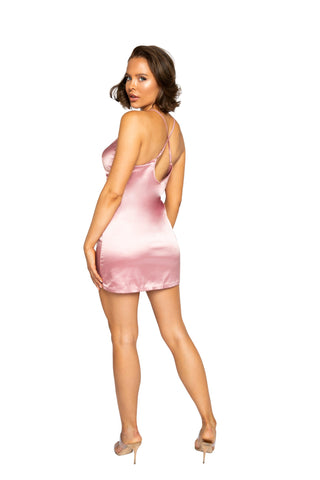 Image of Leila Soft Satin Chemise
