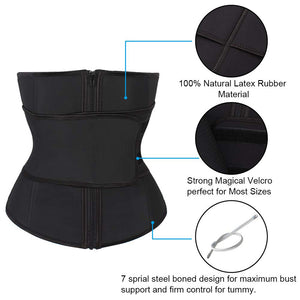 Abdominal Compression Plus Size Corset Waist Trainer