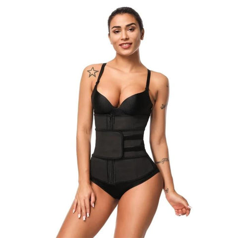 Image of Abdominal Compression Plus Size Corset Waist Trainer