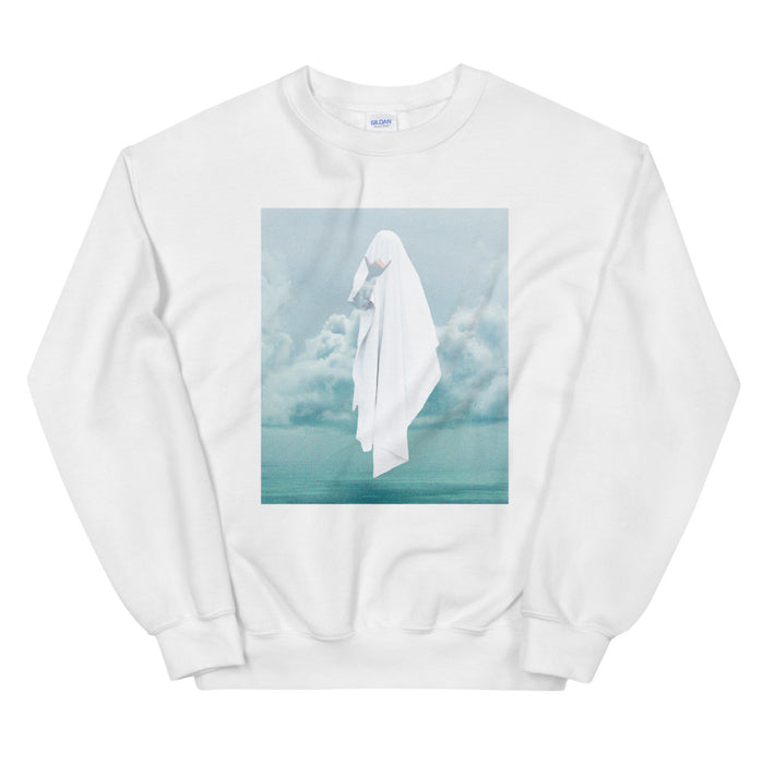 Ghostly Ocean Unisex Sweatshirt - Layered Clothing Co.