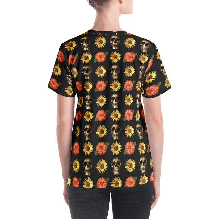Fresh to Death All-Over Print Women's Short-Sleeve V-neck - Layered Clothing Co.