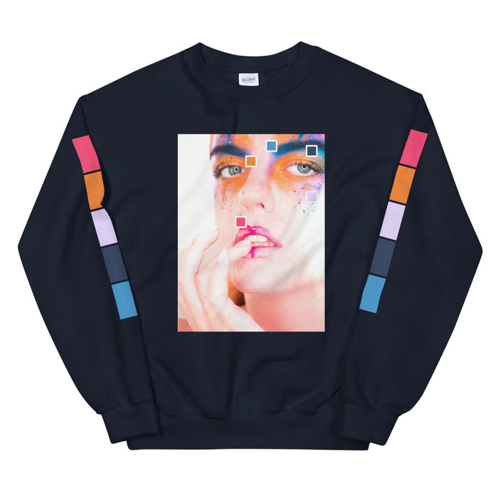 Bright-Eyed Color Story Unisex Sweatshirt -  Layered Clothing Co.