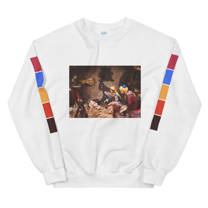 Jesus, Mary, & Joseph Unisex Sweatshirt -  Layered Clothing Co.