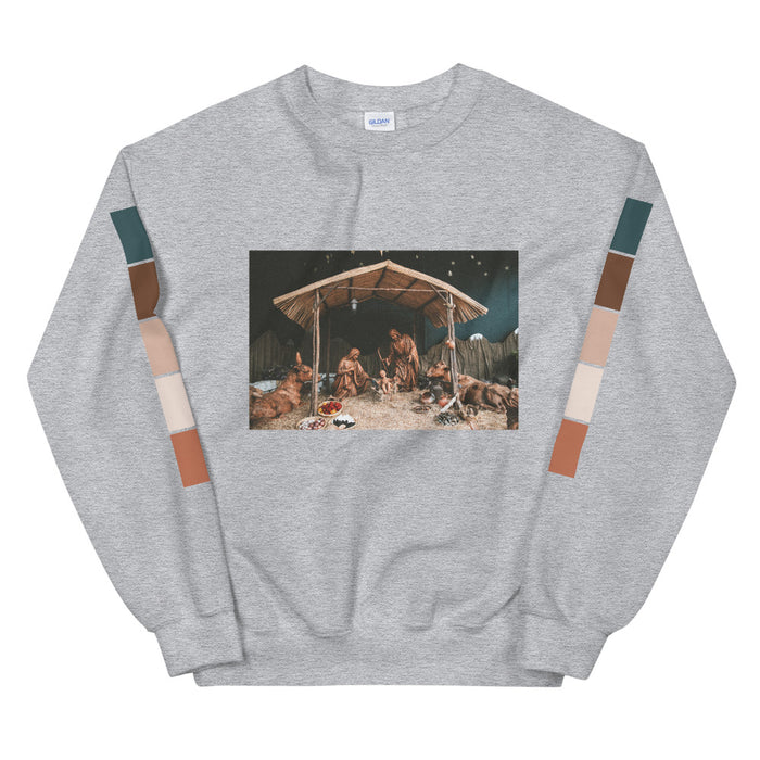 The Nativity Scene Unisex Sweatshirt -  Layered Clothing Co.