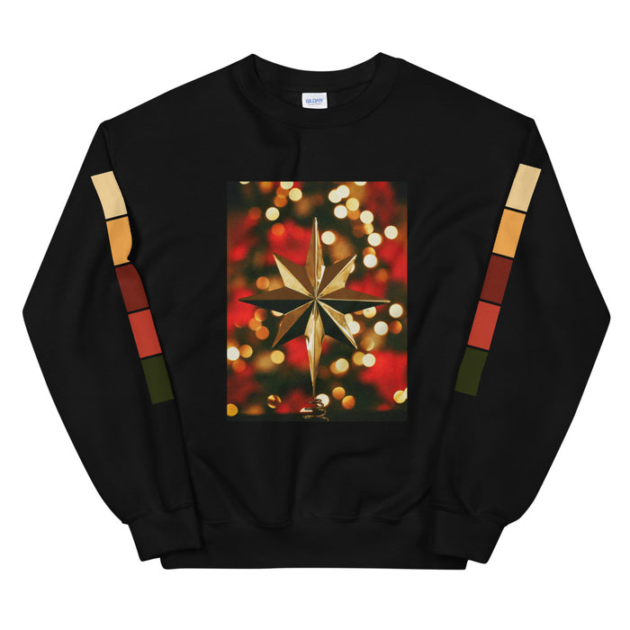 Christmas Star Unisex Sweatshirt -  Layered Clothing Co.