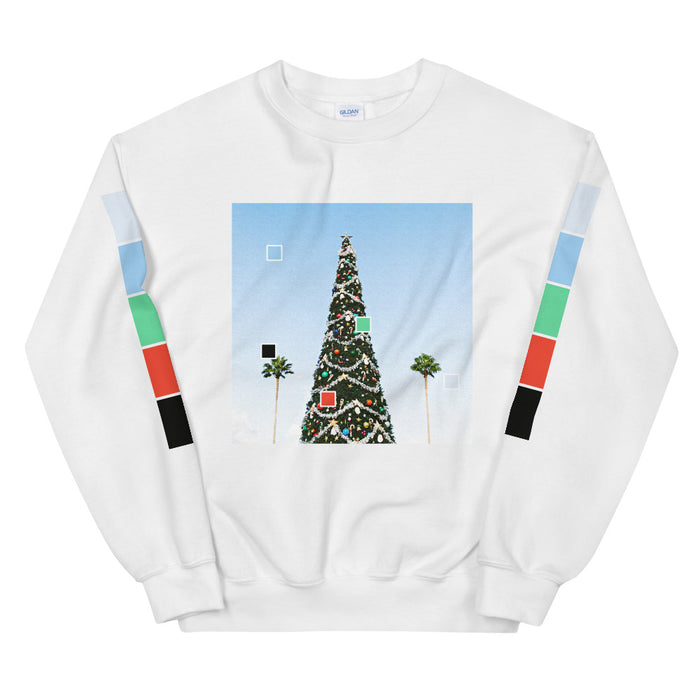 Christmas in Florida Unisex Sweatshirt -  Layered Clothing Co.