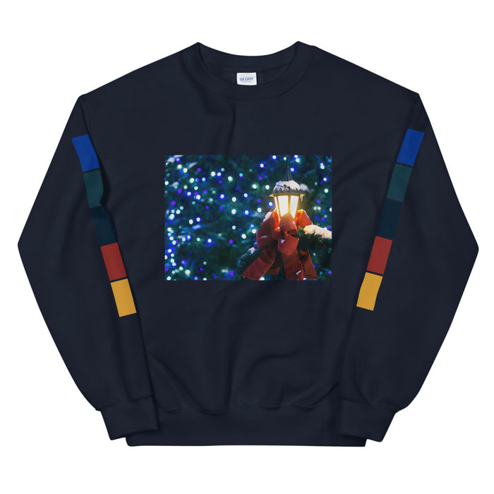 Christmas is Lit Unisex Sweatshirt -  Layered Clothing Co.