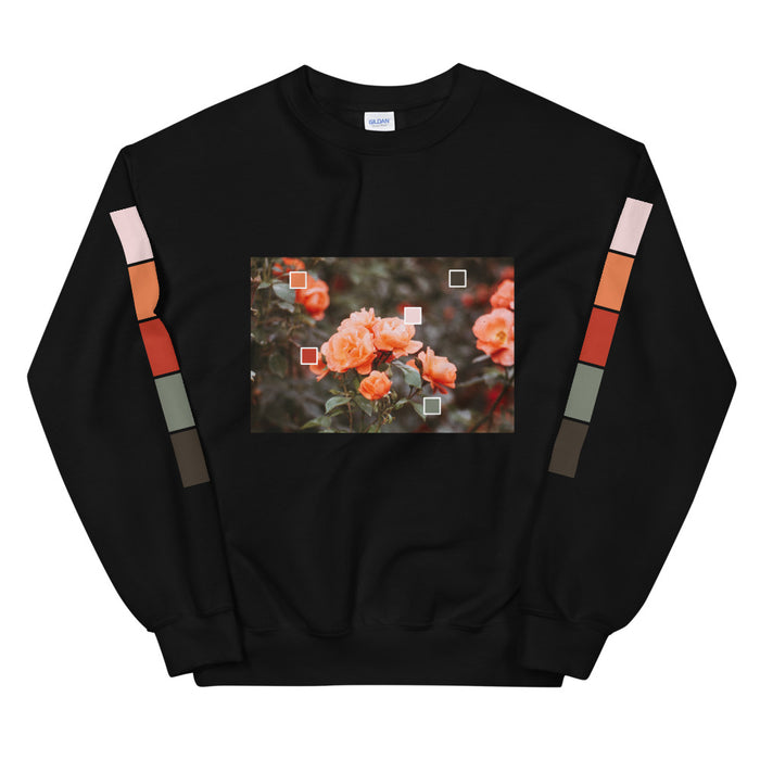 Coral Color Story Unisex Sweatshirt -  Layered Clothing Co.