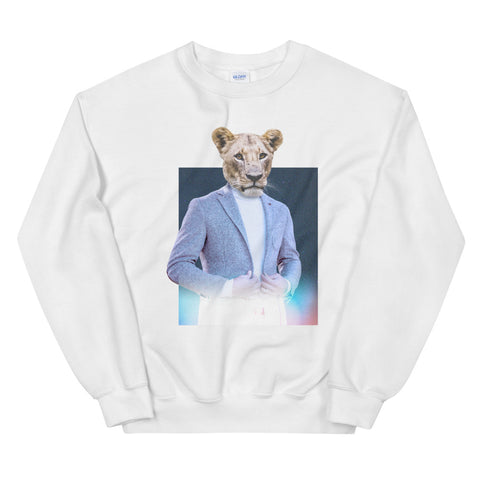 Big Dapper Cat - Unisex Sweatshirt - Layered Clothing Co.