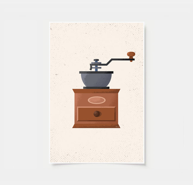 Coffee Grinder - Coffee Poster