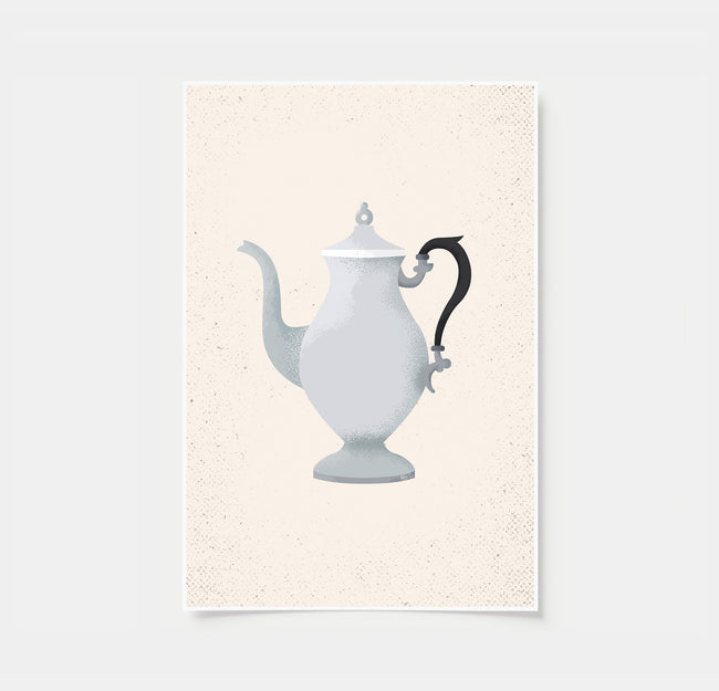 Vintage Coffee Pot Coffee Poster