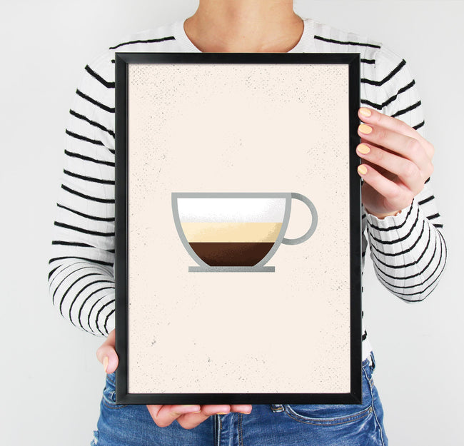 Cappuccino - Coffee Poster