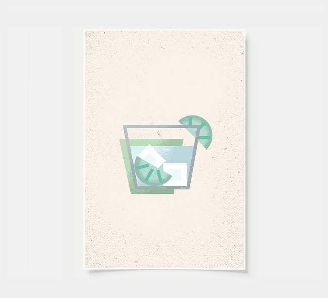 Gin and Tonic - Cocktail Poster