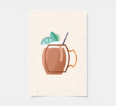 Moscow Mule - Cocktail Poster