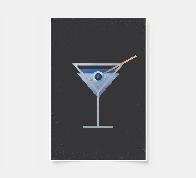 Martini - Cocktail Poster