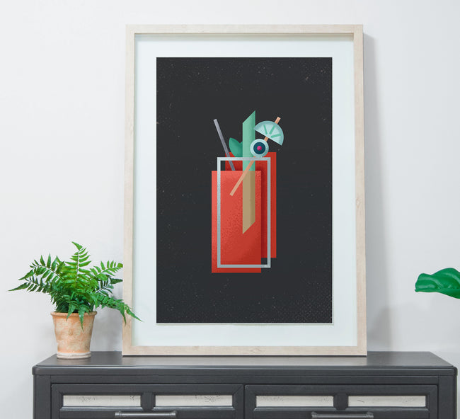 Bloody Mary - Cocktail Poster