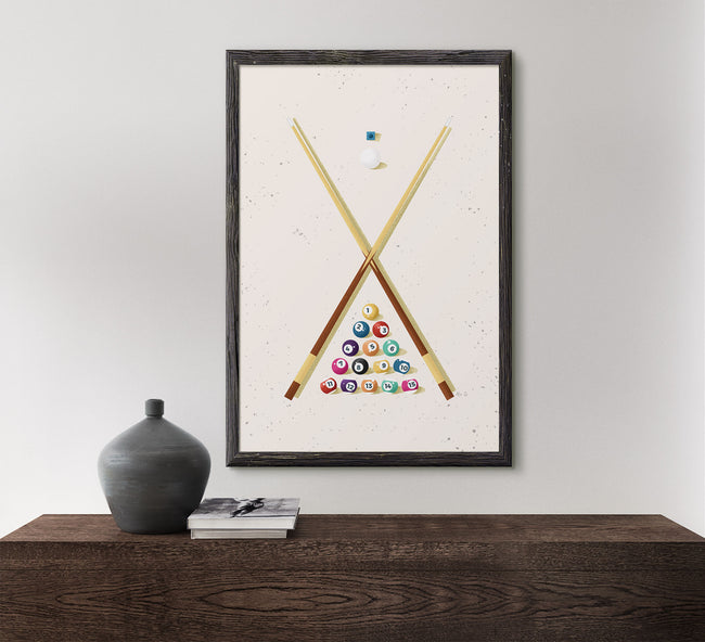 Billiards - Game Room Poster
