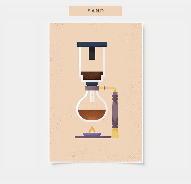 Siphon - Coffee Poster