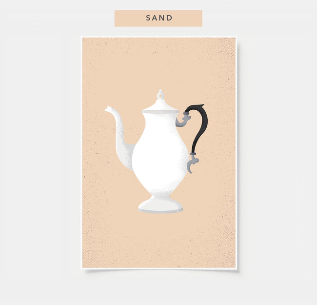 Vintage Coffee Pot - Coffee Poster