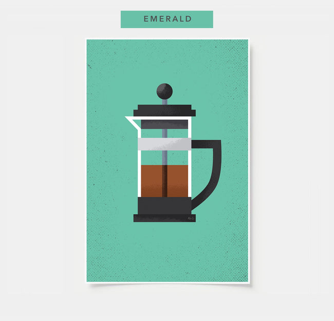 French Press - Coffee Poster