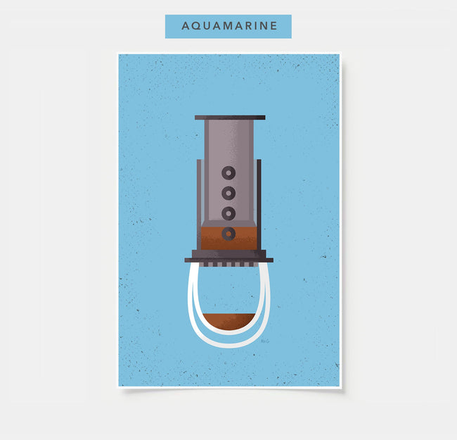 AeroPress - Coffee Poster