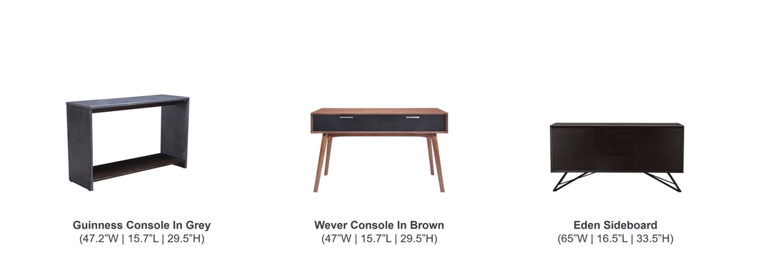 Media Console Tables