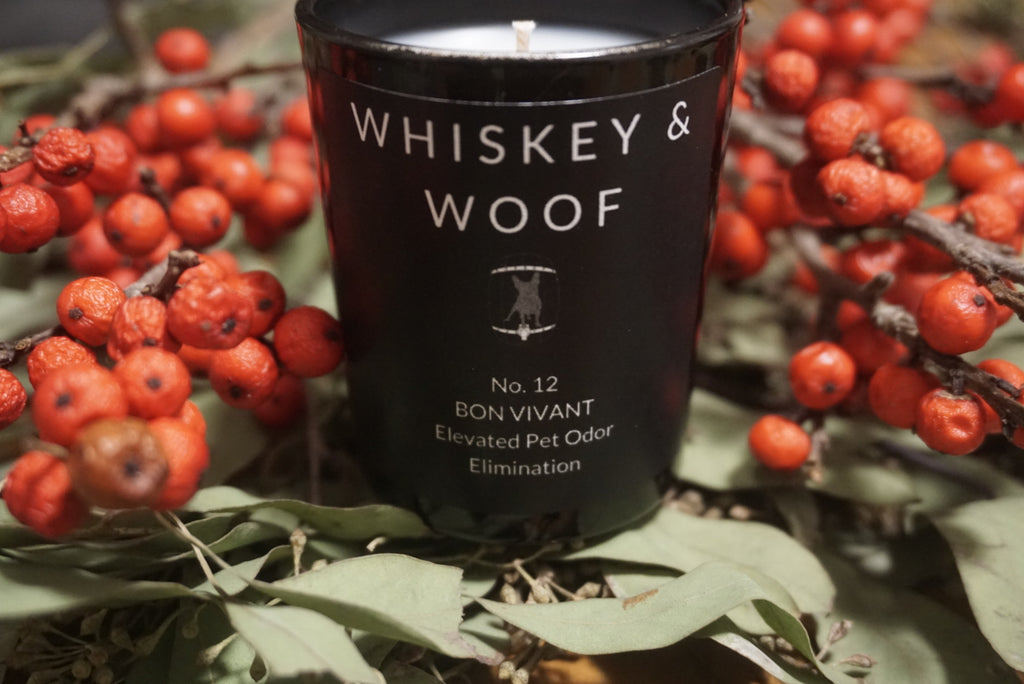 No. 12 BON VIVANT : Whiskey By The Fire Candle