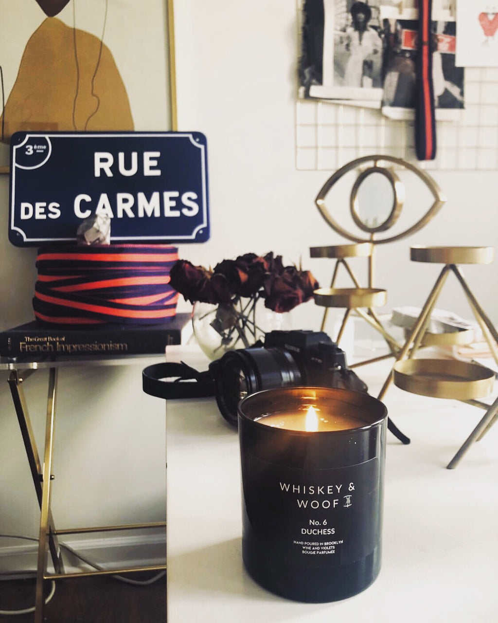 No. 6 DUCHESS: Wine Scented Candle