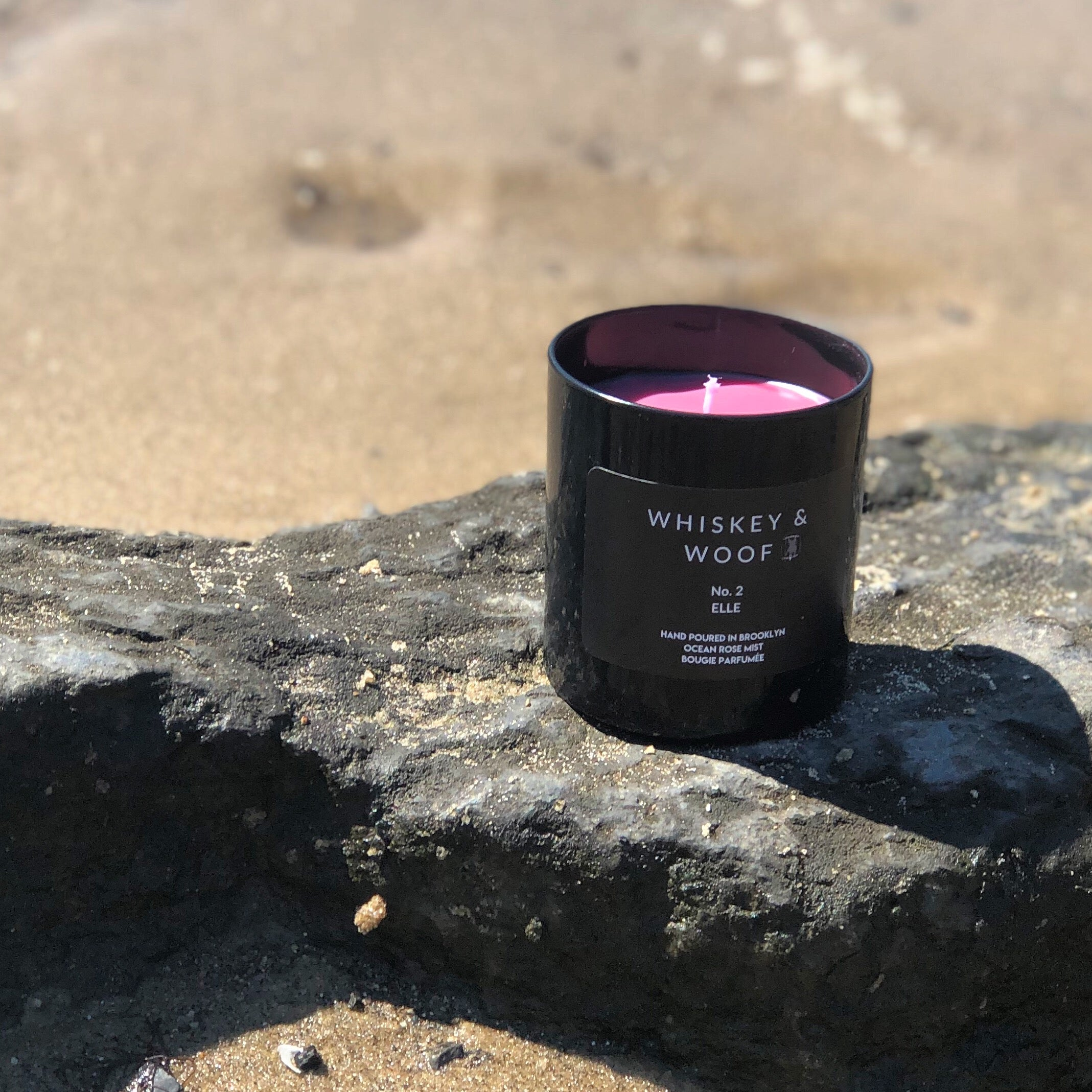 No. 2 ELLE : Ocean Rose Musk Scented Candle