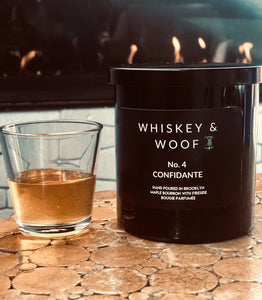 No. 4 CONFIDANTE: Maple Bourbon & Musk Scented Candle: