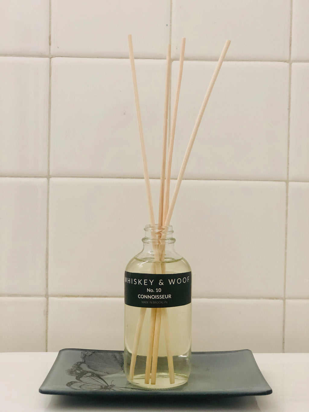 No. 10 CONNOISSEUR: Reed Diffuser and Candle