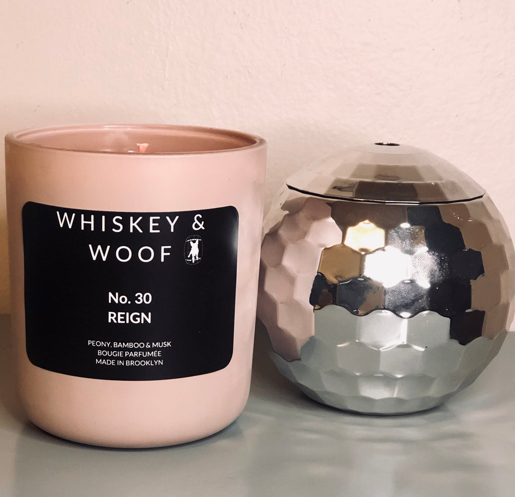 No. 30 REIGN: Peony & Bamboo Scented Candle