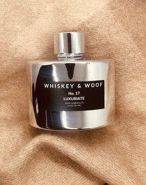 No. 17 LUXURIATE: Whiskey & Cashmere Reed Diffuser